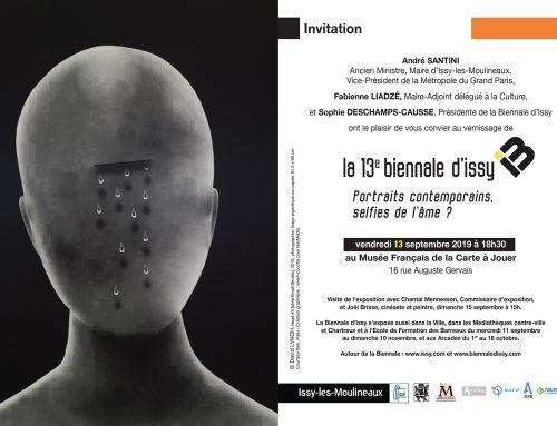 13ème biennale d'Issy les Moulineaux